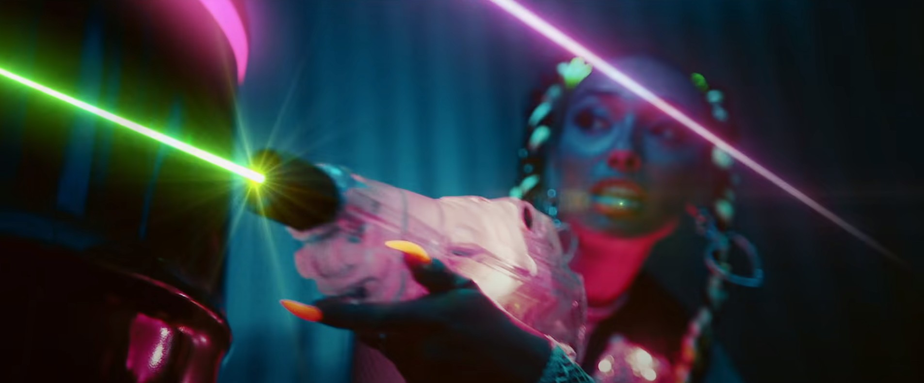 VFX for new music video by David Guetta and Sia